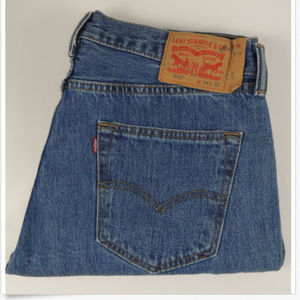 Levi's 501 Original Button Fly Jeans 34 X 32